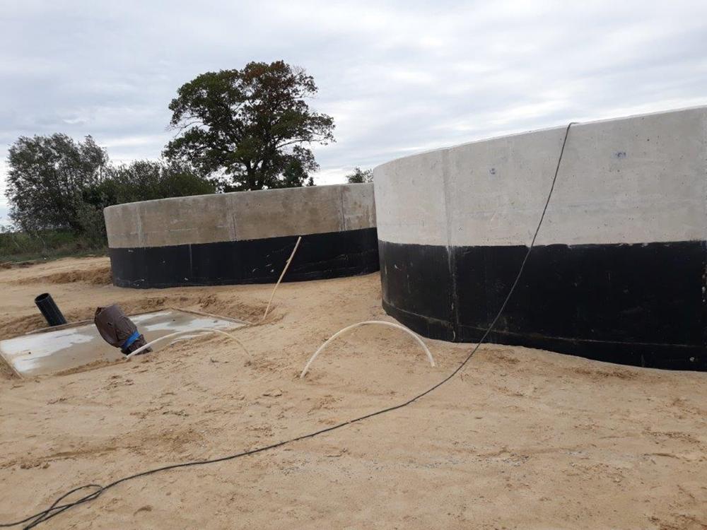 Kilka zdjęć z budowy w Krążkowie