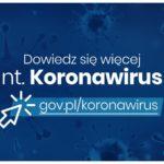 Ważna informacja - dot. Koronawirus  COVID -19