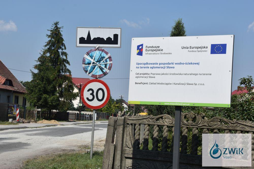 Budowa sieci kanalizacyjnej - Śmieszkowo.