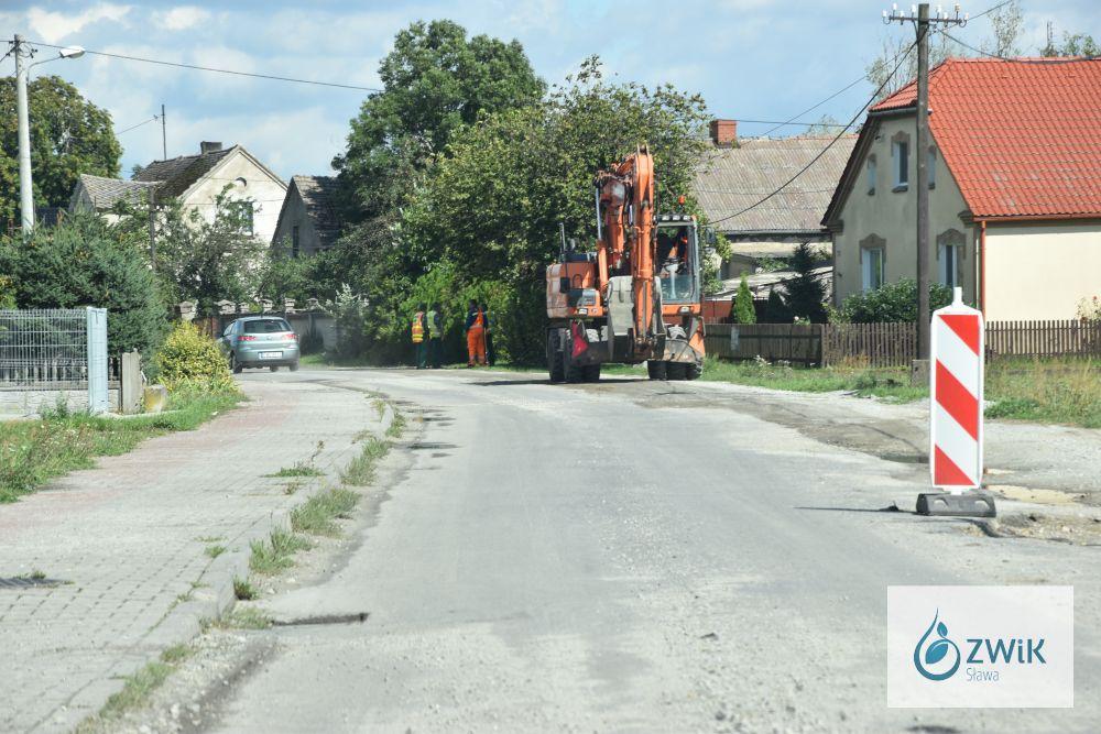Nowa droga w Goli.