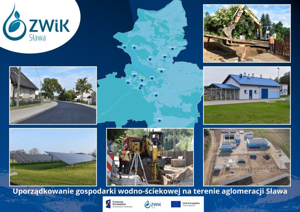 """Raport Projektu """"Uporządkowanie gospodarki wodno - ściekowej na terenie aglomeracji Sława"""""""