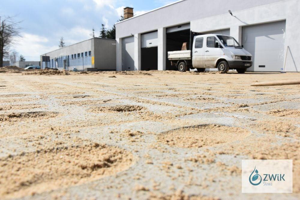 Garaż na pojazdy specjalistyczne